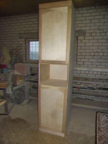 Сделать кухонный пенал в домашних условиях